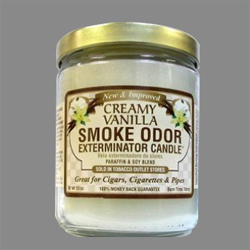 Smoke Odor Exterminator Candles - Creamy Vanilla