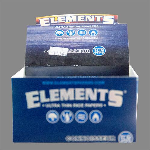 Elements King Size Slim Connoisseur Rice Paper-BOX