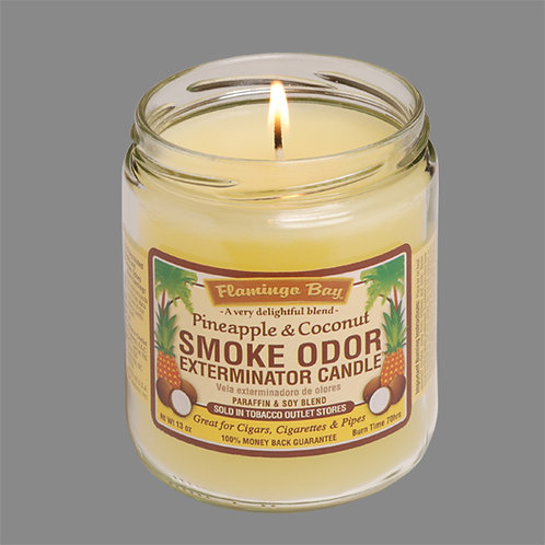 Smoke Exterminator Candles - Pineapple & Coconut