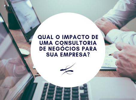 Qual o impacto de uma consultoria de negócios para sua empresa?
