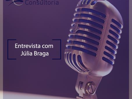 Entrevista com Júlia Braga