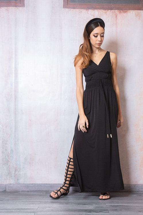 Sandro Ferrone dlouhé šaty KHAKI