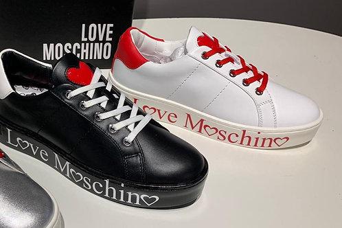 Love Moschino dámské tenisky černé a bílé
