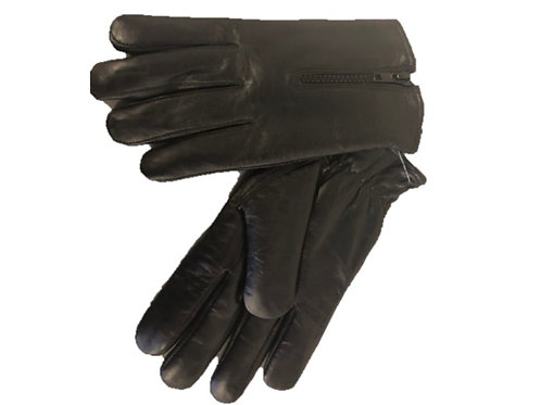 MEN'S FULL FINGER GLOVE LINED WITH ZIPPER