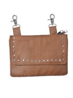 CLIP-ON BAG TAN
