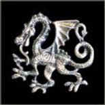 ORIENTAL DRAGON PIN