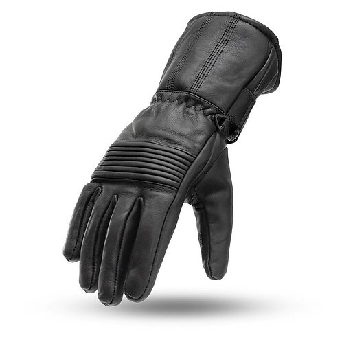 MEN'S GAUNTLET LEATHER GLOVES FI188