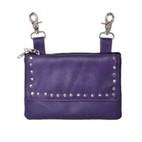 CLIP-ON BAG PURPLE