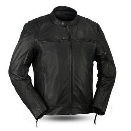 TOP PERFORMER LEATHER JACKET