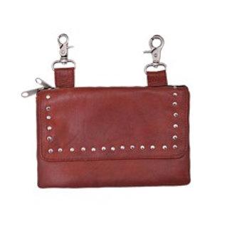 CLIP-ON BAG RED