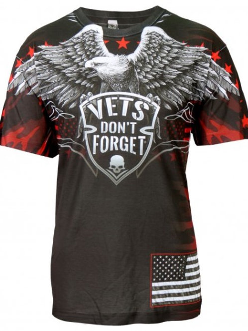 VETS DONT FORGET SHIRT