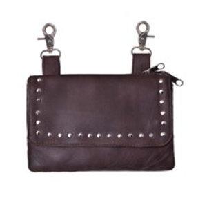 CLIP-ON BAG BROWN
