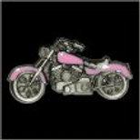 PINK MOTORCYCLE PIN