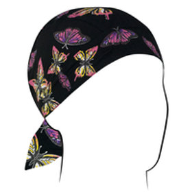 MIXED BUTTERFLIES HEAD WRAP