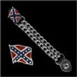 REBEL FLAG VEST EXTENDER