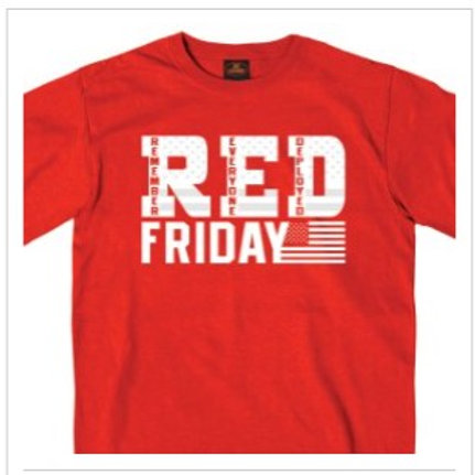 RED FRIDAY SHIRT