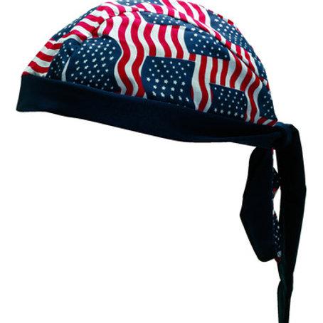AMERICAN FLAG HEAD WRAP