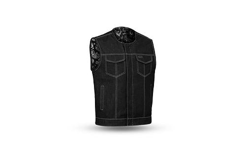 Men's Denim Custom Club Vest w/o Collar