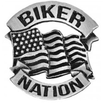 BIKER NATION PIN