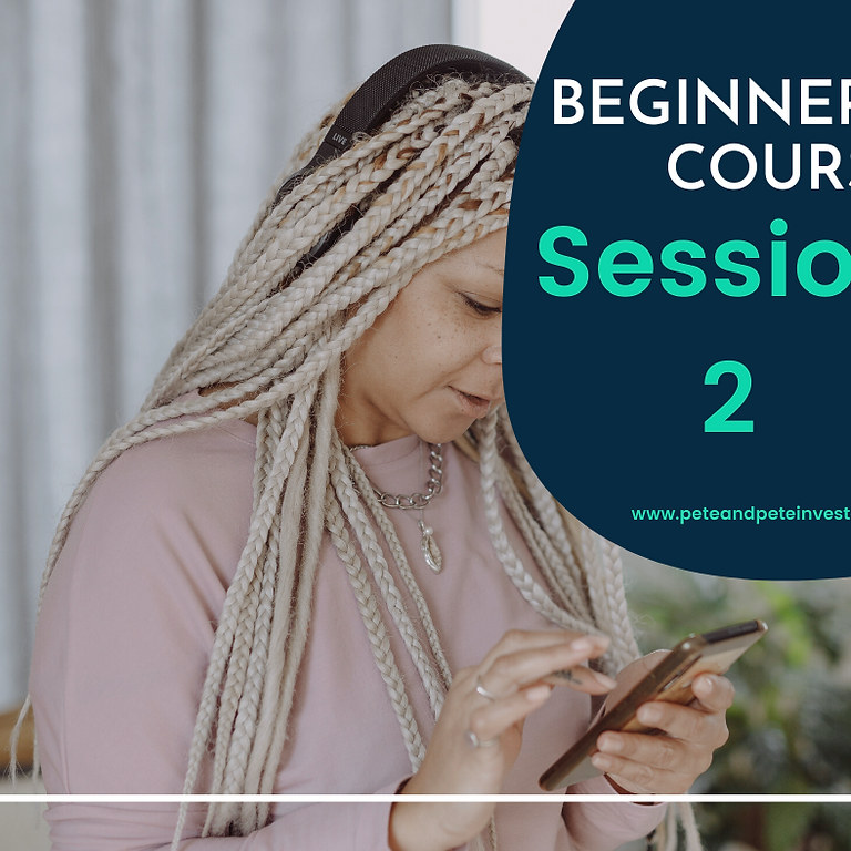 Beginner's Course   Stocks Market   C1   Session 2