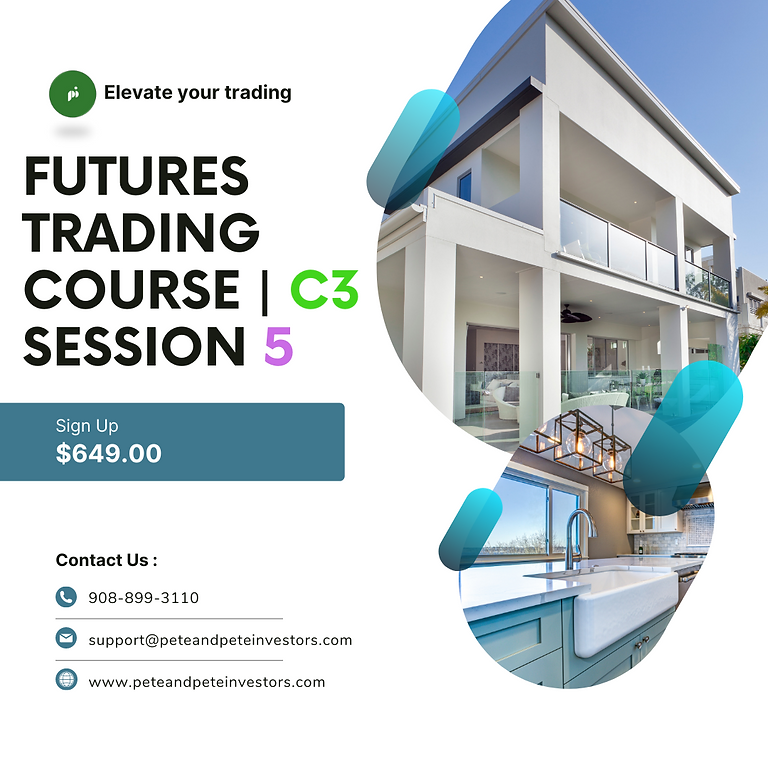 Futures Trading Course C3   Session 5