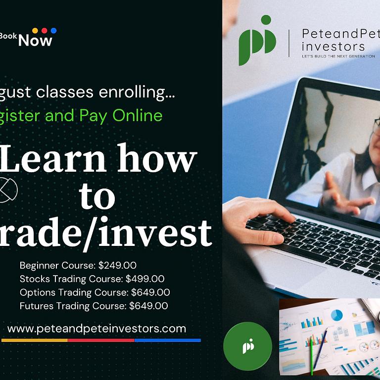Beginner's Course   Stock Market   C1   Session 1