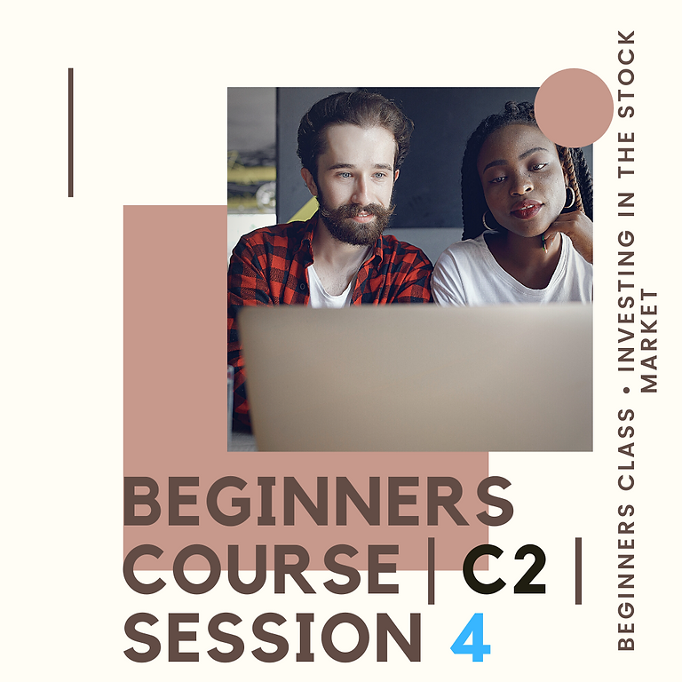 Beginners Course   C3   Session 4
