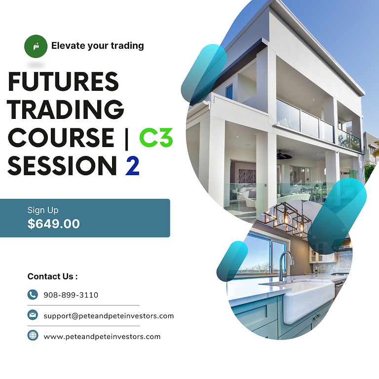 Futures Trading Course C3   Session 2