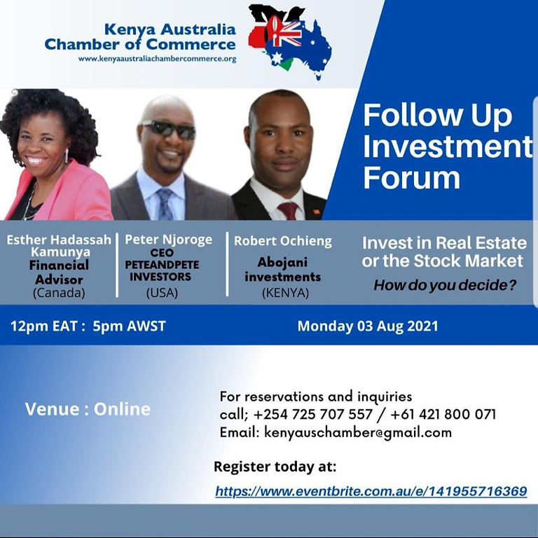 Follow Up Investment Forum