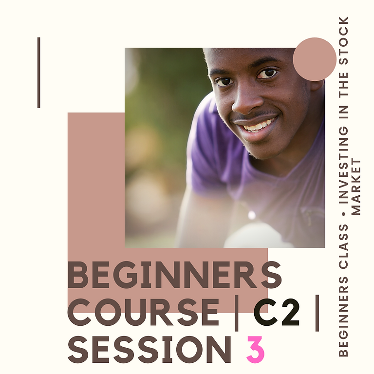 Beginners Course   C3   Session 3