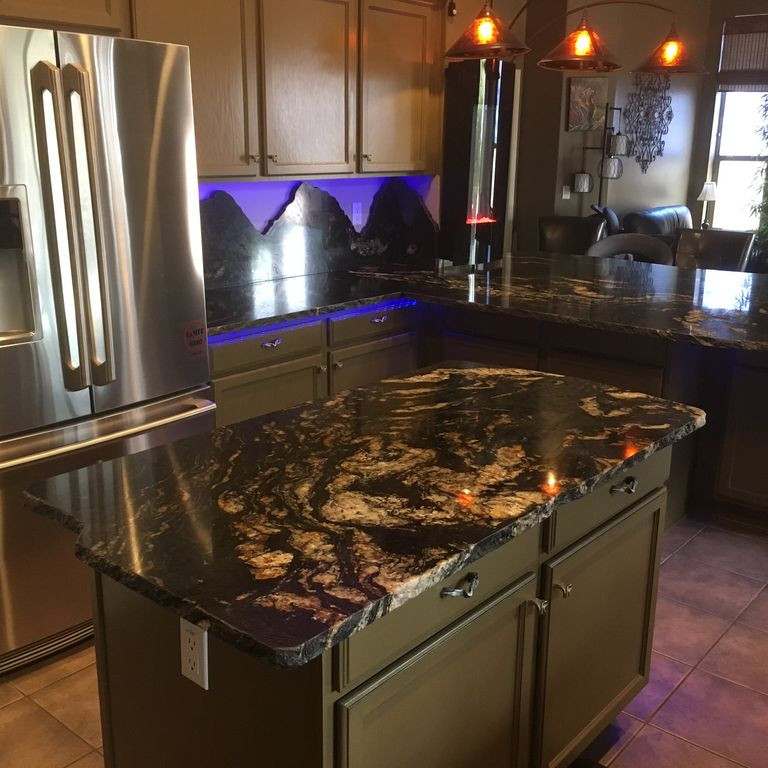 Ultimate Game House Arizona kitchen