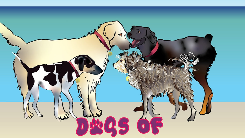 2020 Calendar - Dogs of Whiritoa Beach