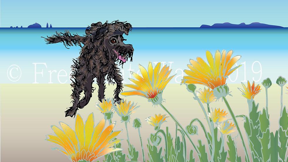 Unframed art print - Alfie-doodle