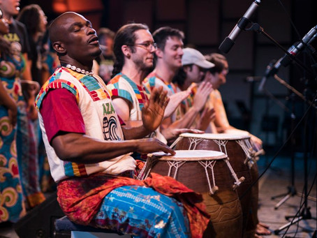 Traditional Ghanaian African Dance Workshop And Community Open Mic