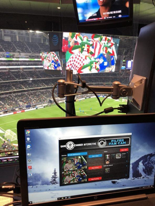 SportTechie showcases the tech behind Filter Fan Cam