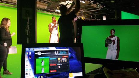 Green Screen shoot