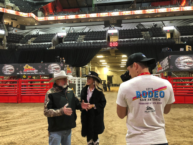 GAME CHANGER MVP HELPS SHOWCASE AMERICA'S PREMIER RODEO