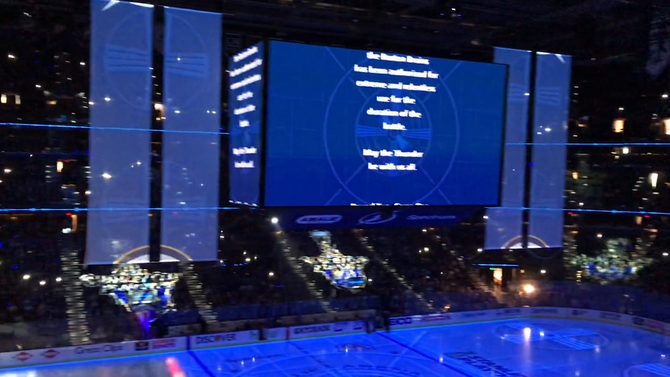 GAME CHANGER MVP CONTINUES TO PROVIDE IN-VENUE EXCITEMENT FOR TAMPA BAY LIGHTNING DURING STANLEY CUP
