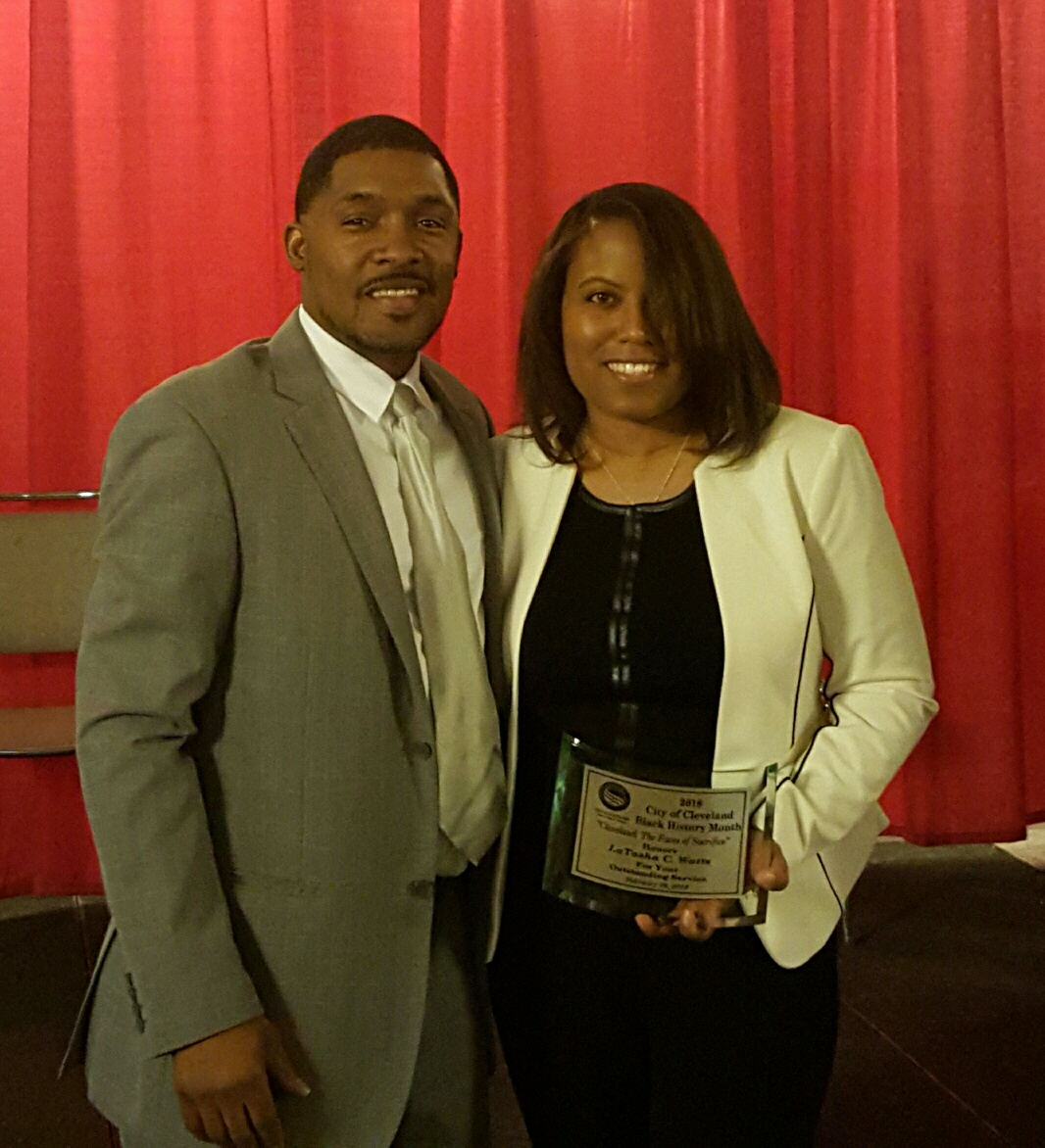 LaTasha C. Watts & The Honorable Judge Michael Ryan