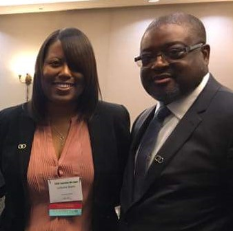 Foster Care Advocate & Author LaTasha C. Watts & Dr. William Bell CEO Casey Family Programs