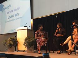 LaTasha C. Watts on the panel discussion at The Starfish Foundation's Powerherful 2016 Summit #2