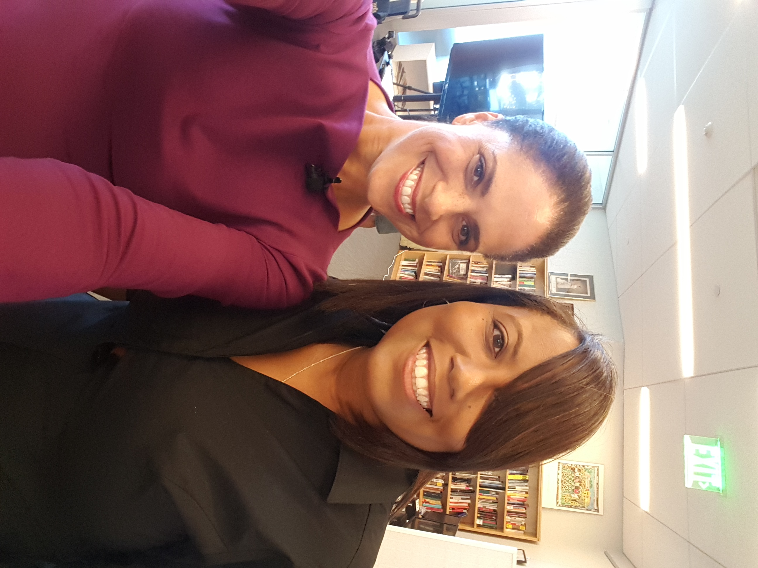 LaTasha C. Watts& Soledad O'Brien Journalist and Founder of The Starfish Foundation