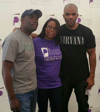 LaTasha C. Watts, Antwone Fisher & DMC from Run DMC