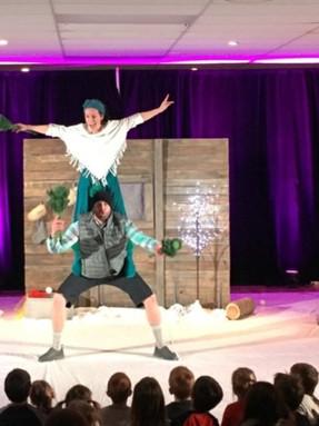 Cirque et boules de neige_