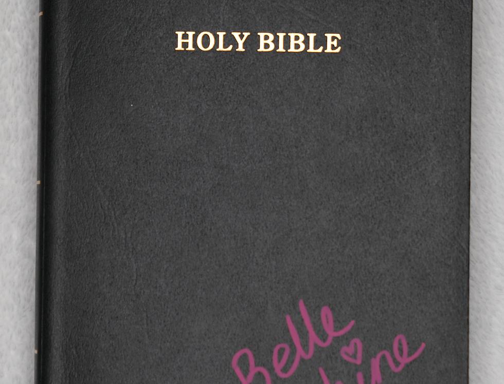 Signed Holy Bible