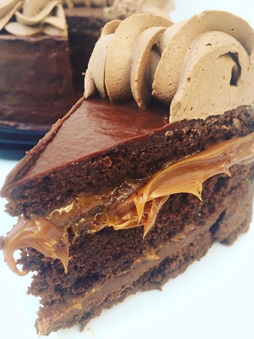 Torta Chocolate Manjar 0% Azúcar