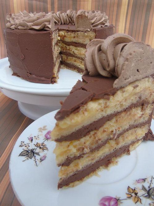 Torta Naranja Chocolate 0% Azúcar