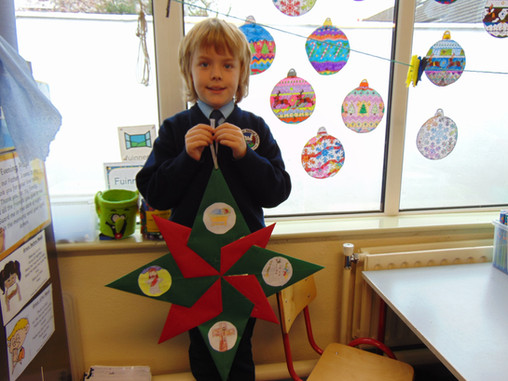 Recycled Christmas Tree Decorations