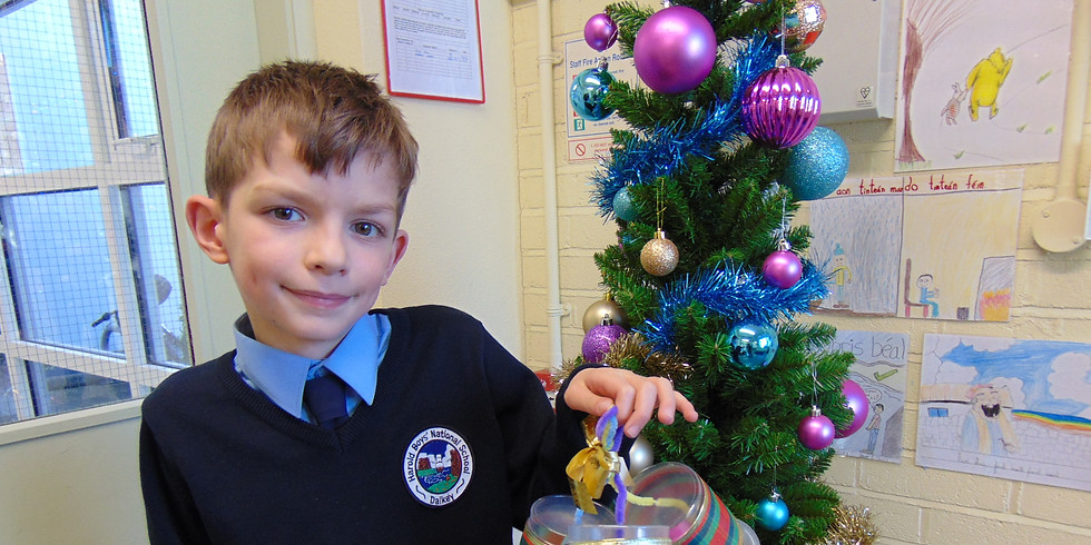 Christmas Recycled Decoration Competition