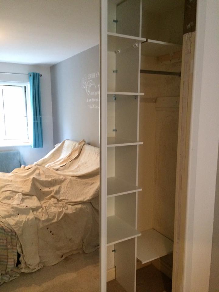 cupboard build